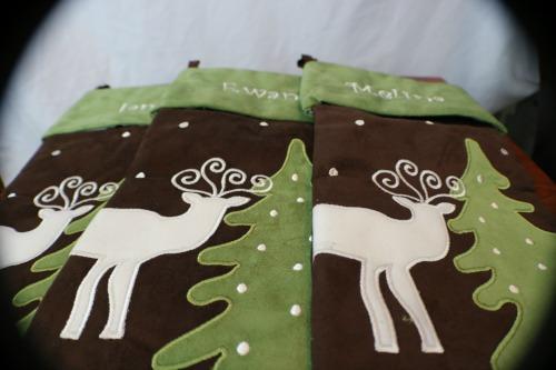 custom reindeer stockings