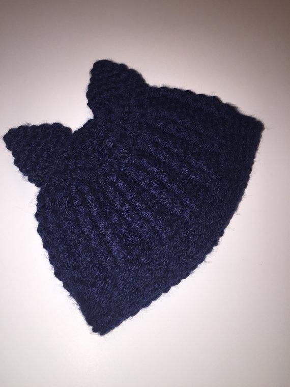 Trunks themed DBZ baby hat knit handmade gift idea