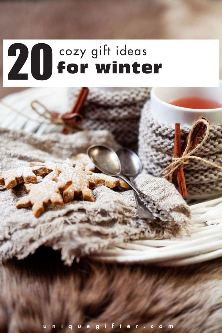 Ready to snuggle up for winter time? Choose one of these cozy gift ideas for winter to warm the hearts and bodies of friends and family!