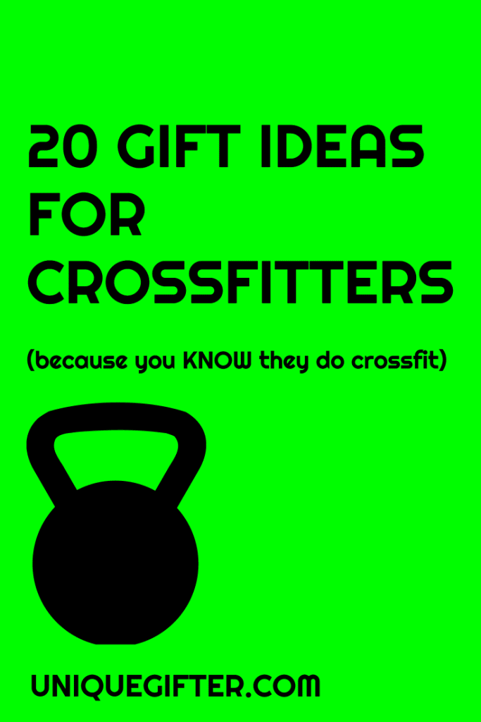 Gift Ideas for Crossfitters | Crossfit | Gift Guide | Birthday Present | Anniversary Present | Christmas Present