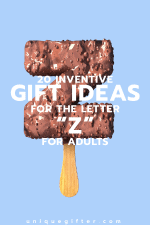 20 Gifts for the Letter Z for Adults