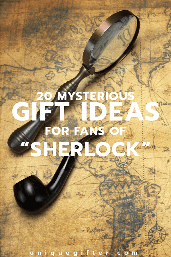 Who else is Twitter obsessed? Sherlock Holmes! Here's gift ideas for fans of Sherlock. | Birthday | Christmas | Anniversary