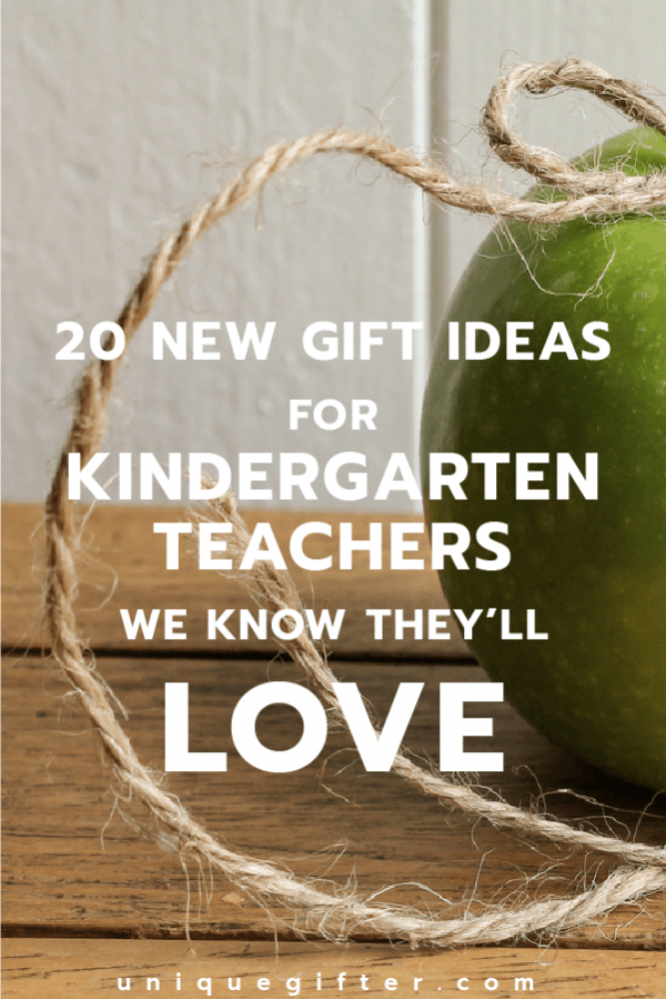 20 Gift Ideas for Kindergarten Teachers : unique teacher gift ideas - medton.org