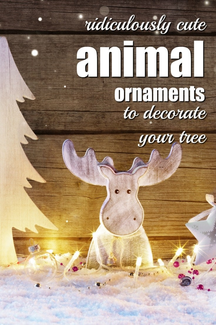ridiculously cute animal ornaments to decorate your tree