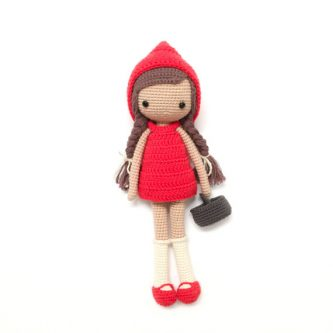 Letter R scavenger hunt themed gift idea - Red Riding Hood