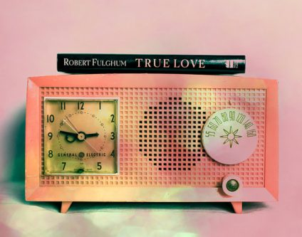 This antique radio is a great gift idea that starts with the letter R