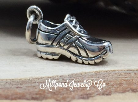 Gift Ideas for the Letter R - Running shoe charm