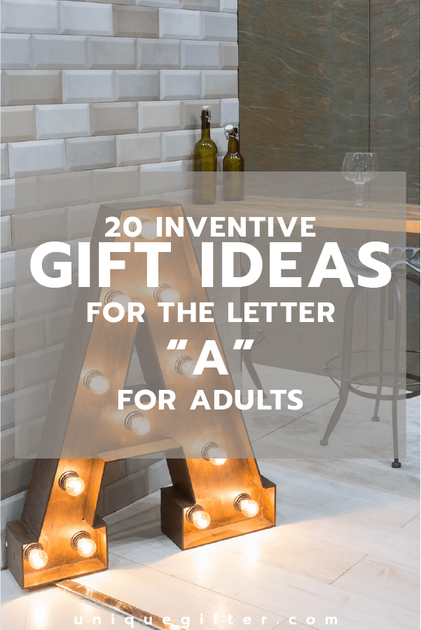 The Ultimate List of Gifts that Start with the Letter ...