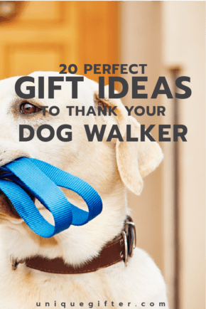 Dog Walker Thank Yous | Thank You Gifts for Dog Sitters | Christmas Gift Ideas | Presents for Dog Walker