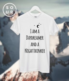 Gifts for Aquarius Men. I am a Day Dreamer Tee