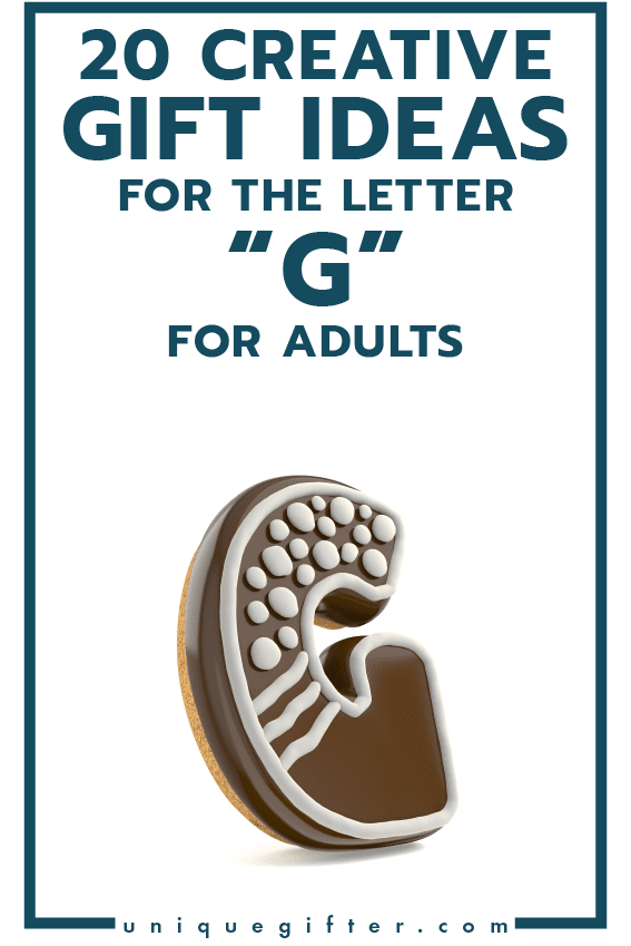 Setting up the world's best scavenger hunt? Use these inventive gift ideas that start with the letter G | Birthday | Anniversary | Adult | Gifts that begin with the letter G