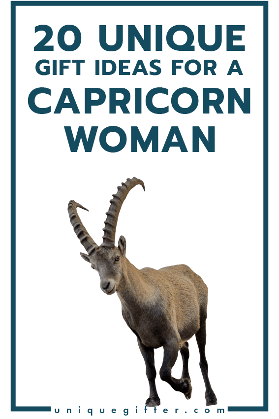 20 Gift Ideas For A Capricorn Woman Unique Gifter