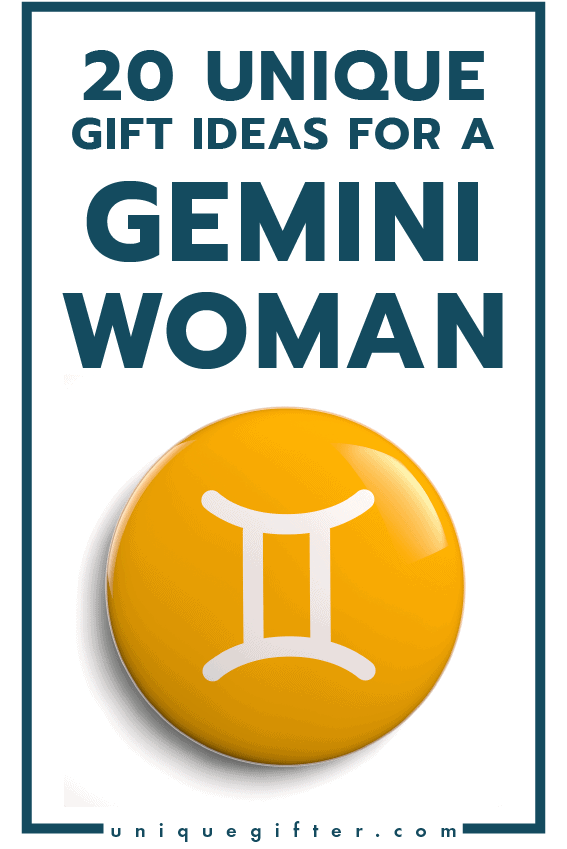 20 Gift Ideas For A Gemini Woman