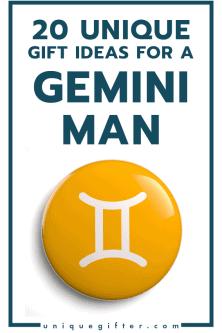 20 Gift Ideas for a Gemini Man