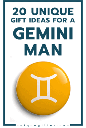 Unique Gift Ideas for a Gemini Man   Men's Horoscope Gift   Presents for my Boyfriend   Gift Ideas for Men   Gifts for Husband   Birthday   Christmas