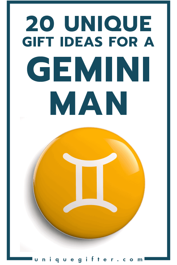 Unique Gift Ideas for a Gemini Man | Men's Horoscope Gift | Presents for my Boyfriend | Gift Ideas for Men | Gifts for Husband | Birthday | Christmas