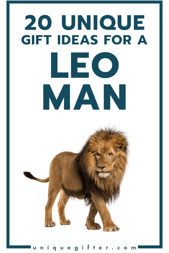 20 Gift Ideas For A Leo Man