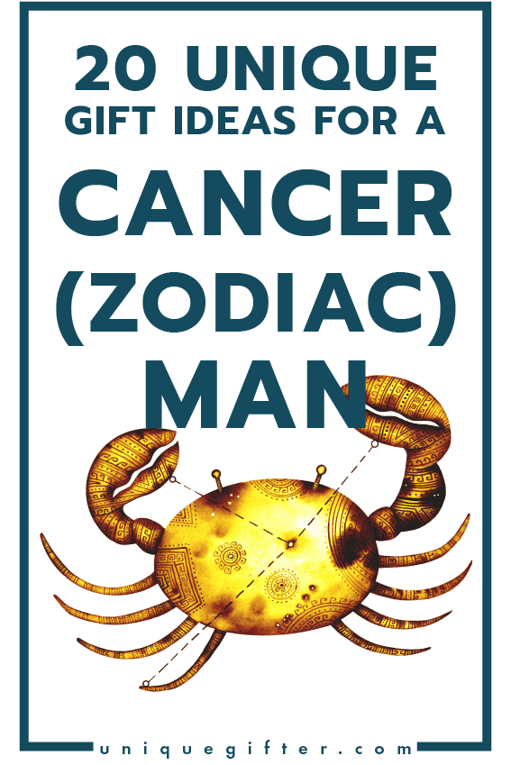 Superb Gift Ideas for a Cancer Zodiac Man | Men's Horoscope Gift | Presents for my Boyfriend | Gift Ideas for Men | Gifts for Husband | Birthday | Christmas