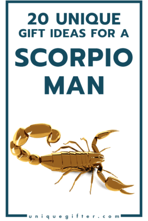Superb Gift Ideas for a Scorpio Man   Men's Horoscope Gift   Presents for my Boyfriend   Gift Ideas for Men   Gifts for Husband   Birthday   Christmas