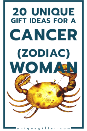 Incredible Gift Ideas for a Woman Born in the Cancer Zodiac Sign | Women's Horoscope Gift | Presents for my Girlfriend | Gift Ideas for Women | Gifts for Wife | Birthday | Christmas