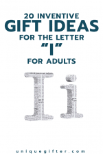 20 Inventive Gift Ideas for the Letter I for Adults
