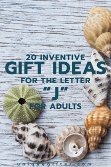 20 Inventive Gift Ideas for the Letter J for Adults