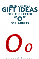 20 Inventive Gift Ideas for the Letter O for Adults