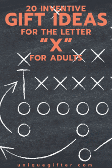 20 Inventive Gift Ideas for the Letter X for Adults