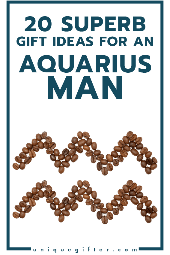 Superb Gift Ideas for an Aquarius Man | Men's Horoscope Gift | Presents for my Boyfriend | Gift Ideas for Men | Gifts for Husband | Birthday | Christmas