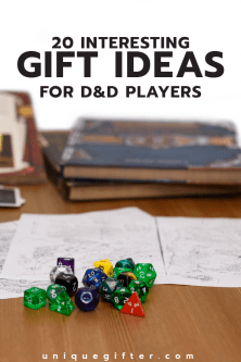 Interesting Gift Ideas for D&D Players | Dungeons and Dragons Gifts
