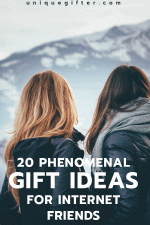 20 Gift Ideas for Internet Friends