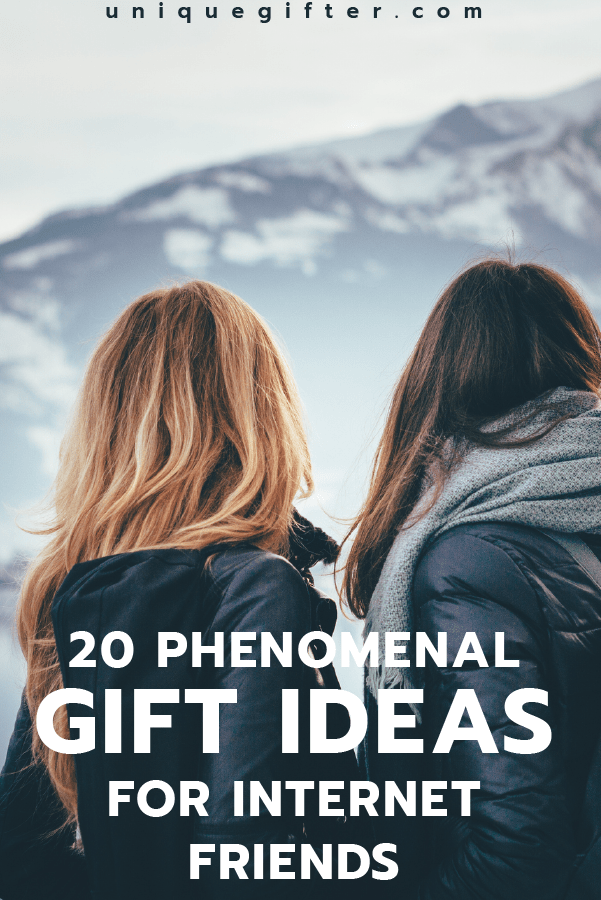 These gift ideas for Internet Friends are the BEST! | Online Friends | Birthday Gifts | Gift Ideas for People You Haven't Met in Person | Presents for Far Away Friends | Christmas Ideas