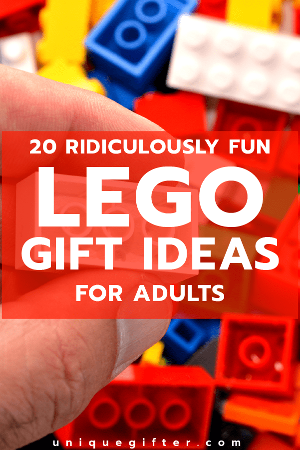 20 Ridiculously Fun Lego Gifts for Adults | Excellent Birthday Presents | Gift for my Boyfriend | Anniversary Gift Idea | Gift Giving Tips for Men | Gifts for Women | Christmas Present Ideas