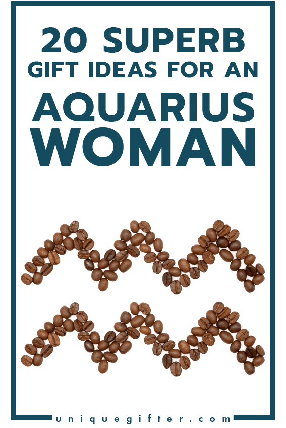 Superb Gift Ideas for an Aquarius Woman | Women's Horoscope Gift | Presents for my Girlfriend | Gift Ideas for Women | Gifts for Wife | Birthday | Christmas