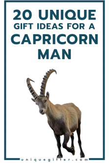20 Gifts For Capricorn Men