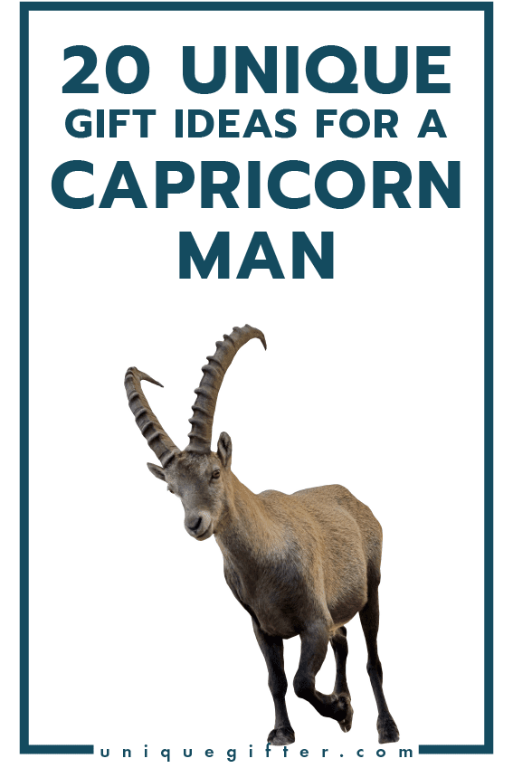 20 Gifts For Capricorn Men Unique Gifter
