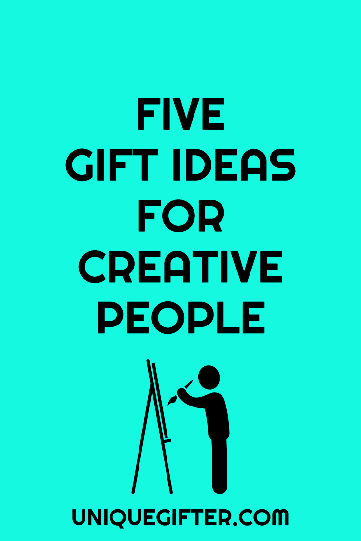 5 gift ideas for creative people | Birthday | Christmas | Inspiration