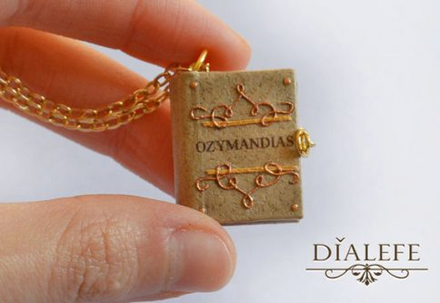 Gift Ideas for the Letter M like this Miniature book charm