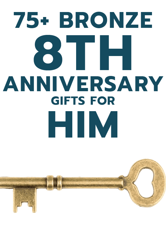 eighth anniversary gifts for him