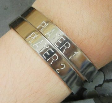 Gaming bracelet gift idea for your online friend