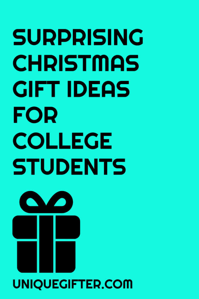 58 Christmas Gifts for College Students in 2017