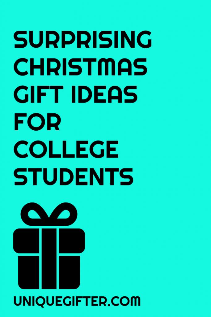 christmas gift ideas for college students freshman sophomore junior senior presents - Christmas Gift Ideas For College Students