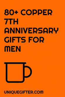 80+ Copper 7th Anniversary Gifts for Him