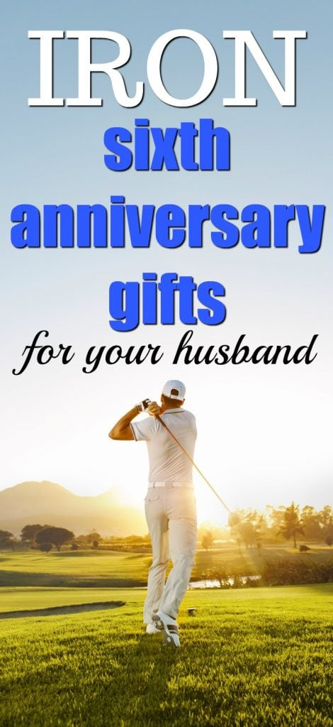 Traditional Iron Sixth Anniversary Gifts For Men 2nd Gift Ideas Him What