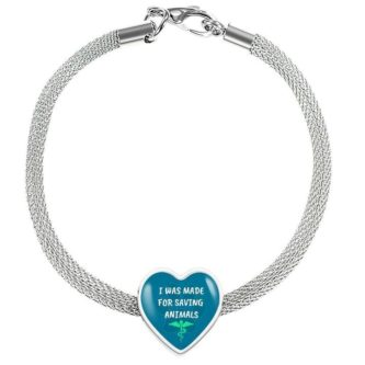 Thoughtful Gift Ideas for Veterinarians - saving animals bracelet