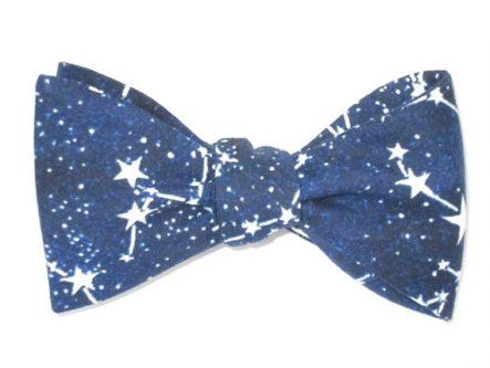 Mens Glow In The Dark Constellation Bow Tie
