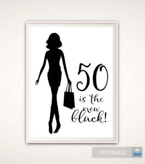 Your wife will love this 50th birthday poster gift ideas for your wife's 50th birthday