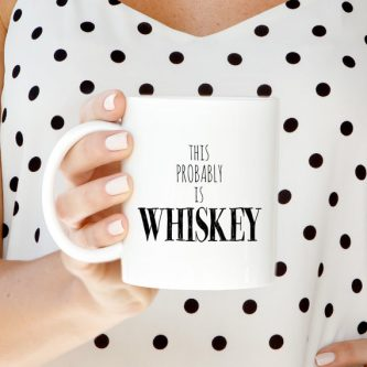 gift ideas for your wife's 50th birthday - funny whiskey glass