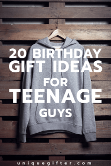 20 Cool Birthday Gifts for Teenage Guys