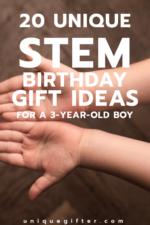 20 STEM Birthday Gift Ideas For A 3 Year Old Boy